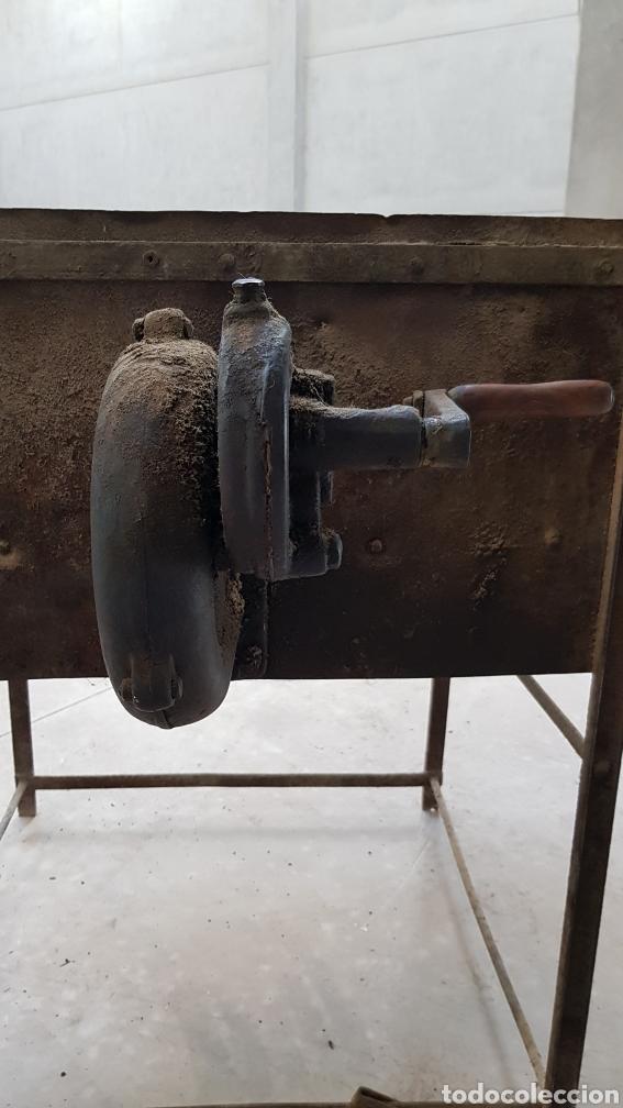 Antigüedades: Antigua fragua de herrero con su turbina LIGP - Foto 5 - 194549707