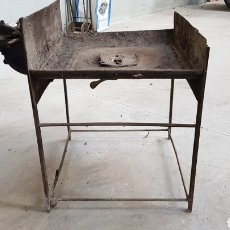 Antigüedades: ANTIGUA FRAGUA DE HERRERO CON SU TURBINA LIGP. Lote 194549707