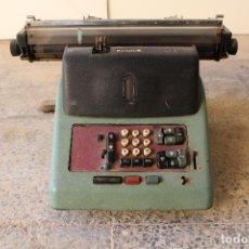 Antigüedades: CALCULADORA OLIVETTI ELETTROSUMMA DUPLEX 24 CR. Lote 194550563