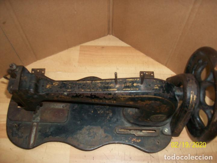 Antigüedades: ANTIGUA CABEZA SINGER-VIOLIN-AÑO 1888 - Foto 4 - 194551745