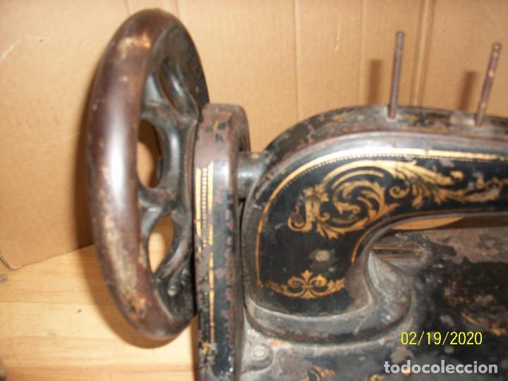 Antigüedades: ANTIGUA CABEZA SINGER-VIOLIN-AÑO 1888 - Foto 6 - 194551745