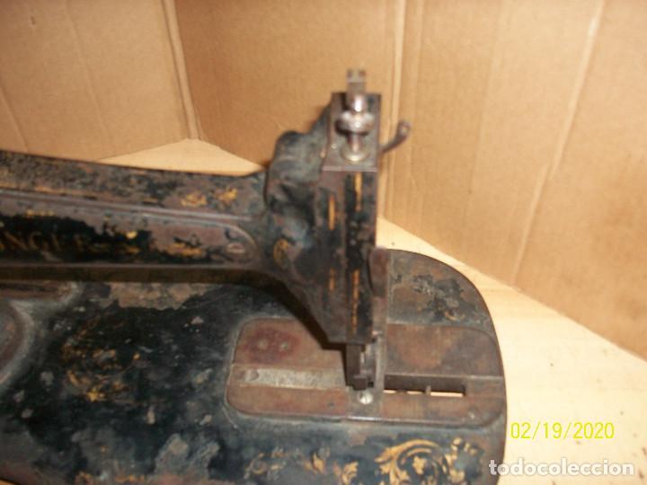 Antigüedades: ANTIGUA CABEZA SINGER-VIOLIN-AÑO 1888 - Foto 7 - 194551745