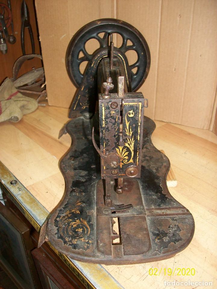 Antigüedades: ANTIGUA CABEZA SINGER-VIOLIN-AÑO 1888 - Foto 8 - 194551745