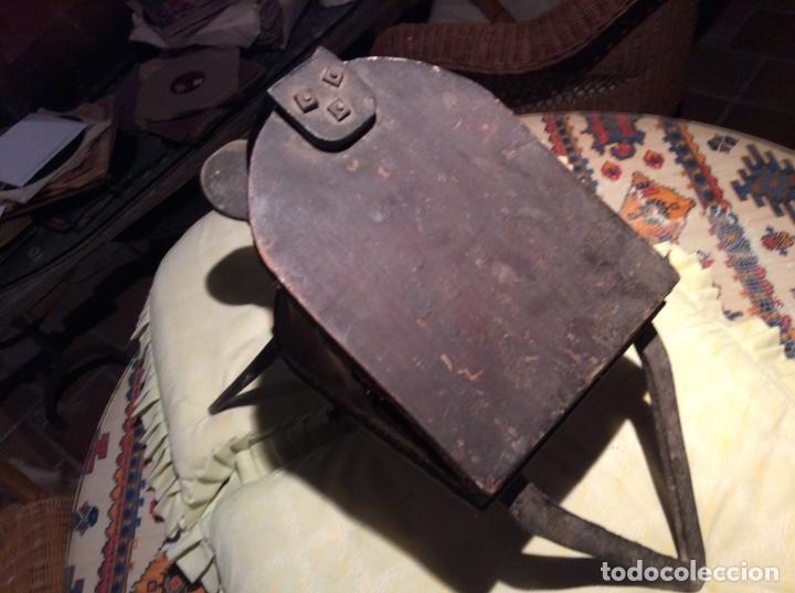 Antigüedades: Antiguo fuelle de fragua. - Foto 2 - 194589838