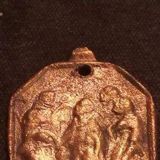 Antigüedades: ANTIGUA MEDALLA DE BRONCE (121). Lote 194616482