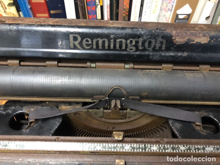Antigüedades: Màquina de escrivir Remington - Foto 3 - 194628813