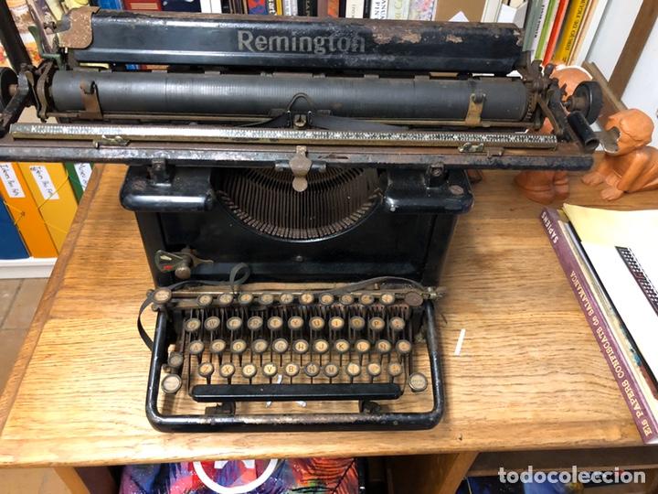 Antigüedades: Màquina de escrivir Remington - Foto 5 - 194628813