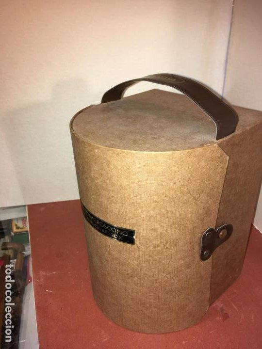 Antigüedades: Estereomicroscopio lupa binocular 20x marca Enosa en caja original. muy bien conservado - Foto 2 - 194674670