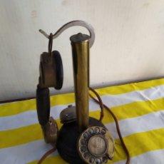 Teléfonos: ANTIGUO Y RARO TELÉFONO SIGLO XIX. Lote 194674855