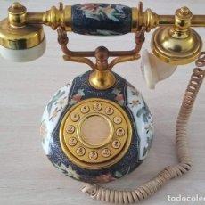 Teléfonos: TELÉFONO VINTAGE DE SOBREMESA FUNCIONANDO . Lote 194690580