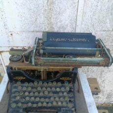 Antigüedades: ANTIGUA MAQUINA DE ESCRIBIR HISPANO OLIVETTI H.O-S.A DE M. Lote 194696465