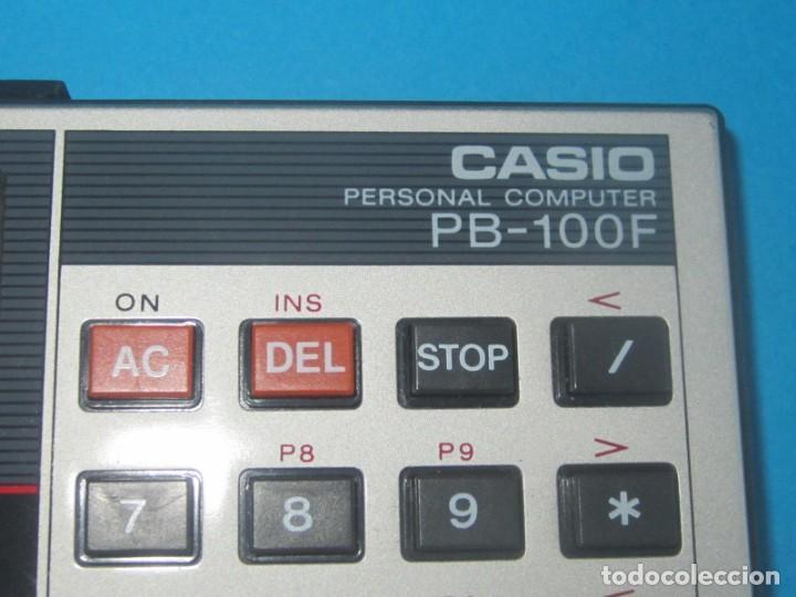 Antigüedades: CASIO CALCULADORA PROGRAMABLE PB- 100F EN MUY BUEN ESTADO, FUNCIONANDO - Foto 3 - 194708128