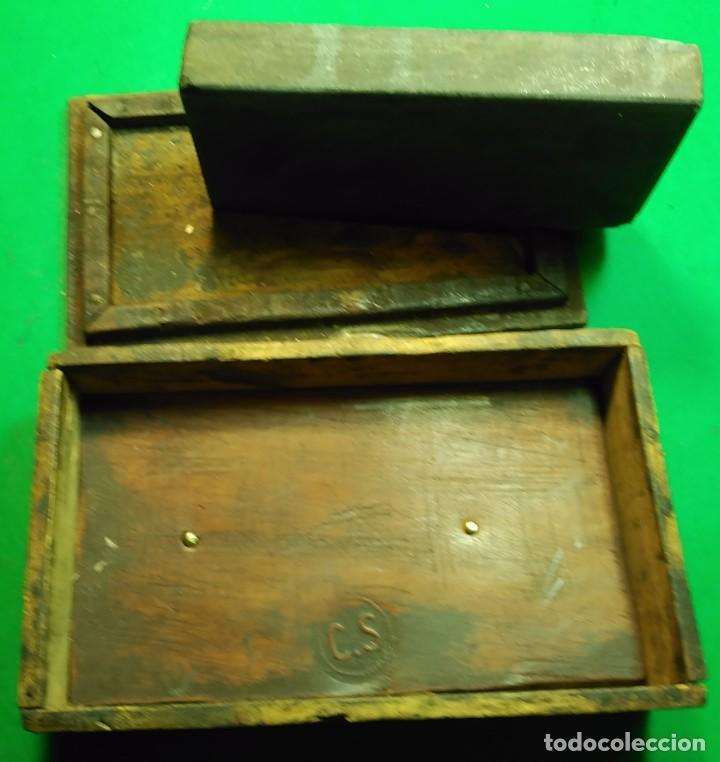 Antigüedades: Piedra de Afilar antigua, muy fina para formones, carpinteria, navajas afeitar, cuchillos calidad - Foto 4 - 194719702