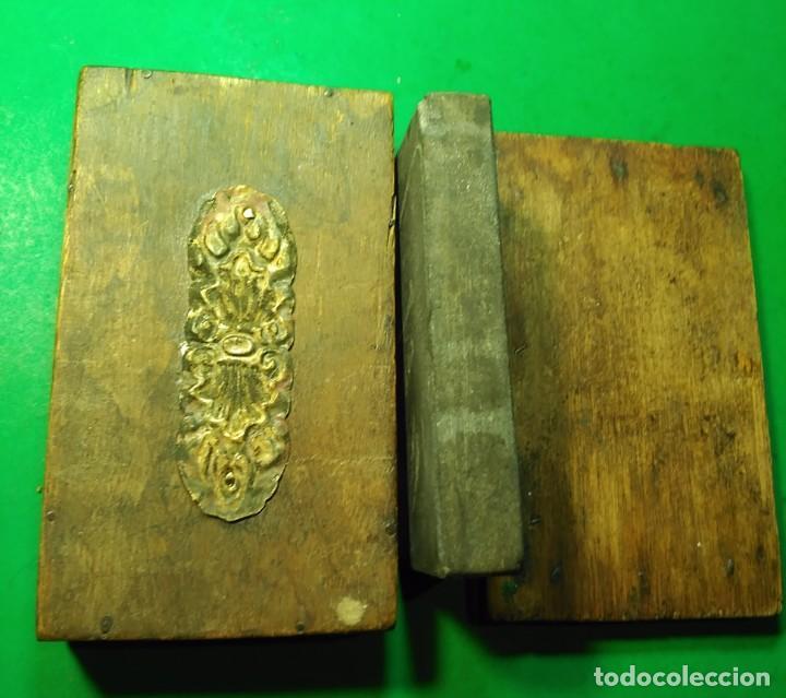 Antigüedades: Piedra de Afilar antigua, muy fina para formones, carpinteria, navajas afeitar, cuchillos calidad - Foto 6 - 194719702