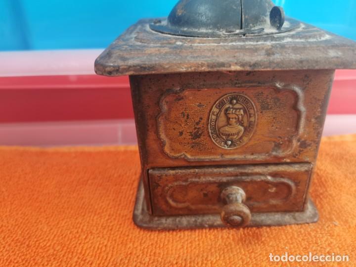 Antigüedades: Antiguo molinillo de café goldenberg - Foto 2 - 194750755