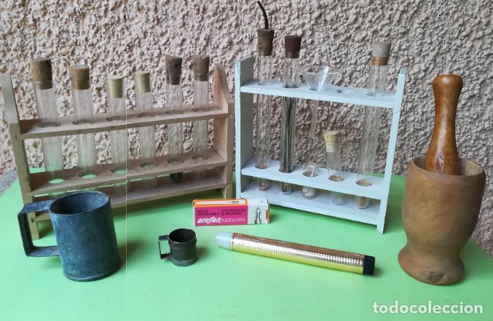 Antigüedades: Material de laboratorio de biología - Foto 2 - 194759720