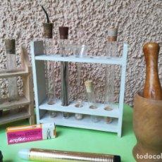 Antigüedades: MATERIAL DE LABORATORIO DE BIOLOGÍA. Lote 194759720