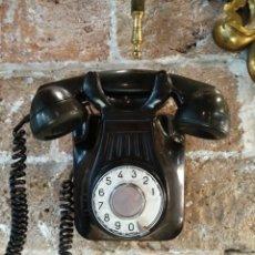 Teléfonos: ANTIGUO TELÉFONO DE BAQUELITA DE PARED. FUNCIONA. Lote 194764708
