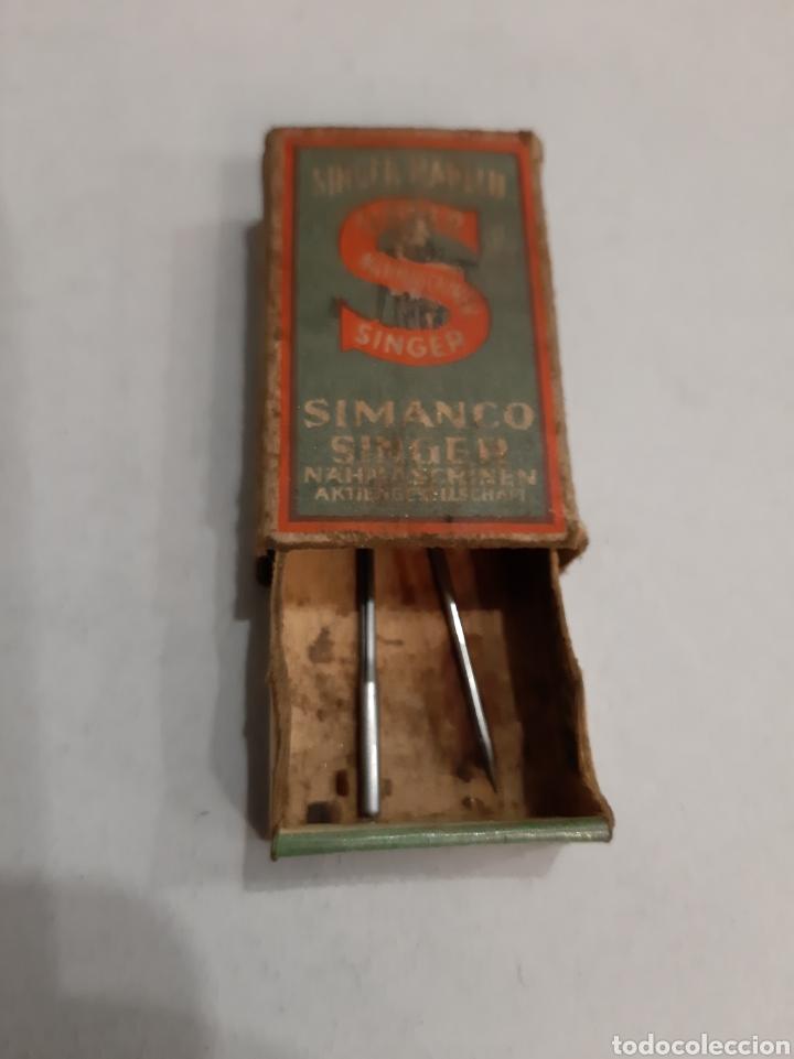 AGUJAS SIMANCO SINGER NADELN ANTIGUO (Antigüedades - Técnicas - Máquinas de Coser Antiguas - Singer)