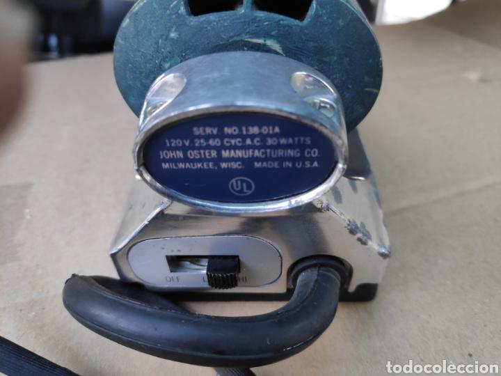 Antigüedades: Curioso aparato vintage electrico 120v usa oster imperial massager masajes 18 cm aprox bueno estado - Foto 4 - 194870306