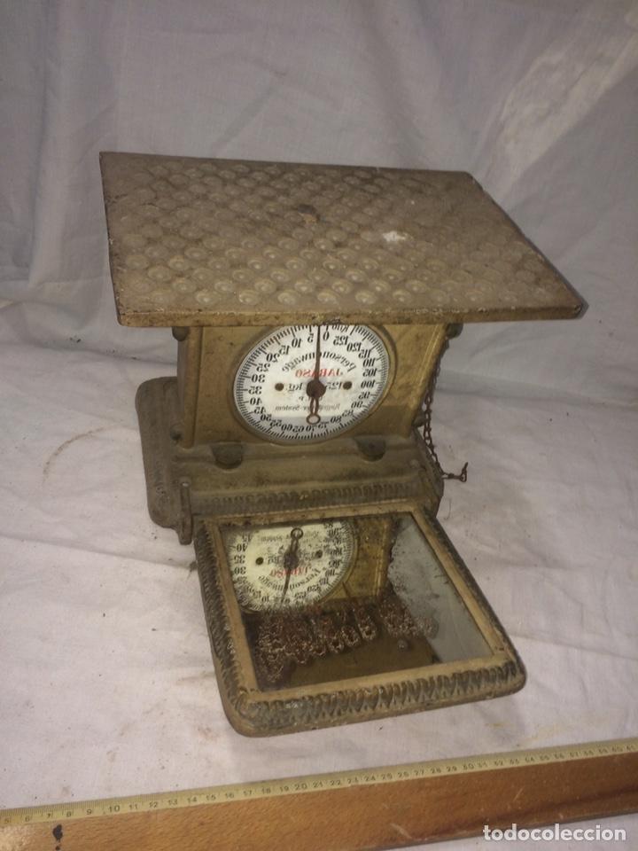 RARA Y ANTIGUA BASCULA DE BOXEADOR! (Antigüedades - Técnicas - Medidas de Peso - Básculas Antiguas)