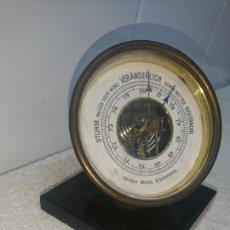 Antigüedades: BARÓMETRO ALEMÁN.. ANTIGUO.. Lote 194881538