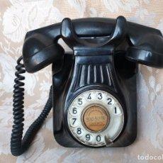 Teléfonos: ANTIGUO TELÉFONO DE PARED MODELO 5522 A DE BAQUELITA. COMPAÑIA TELEFONICA NACIONAL DE ESPAÑA. Lote 194886952