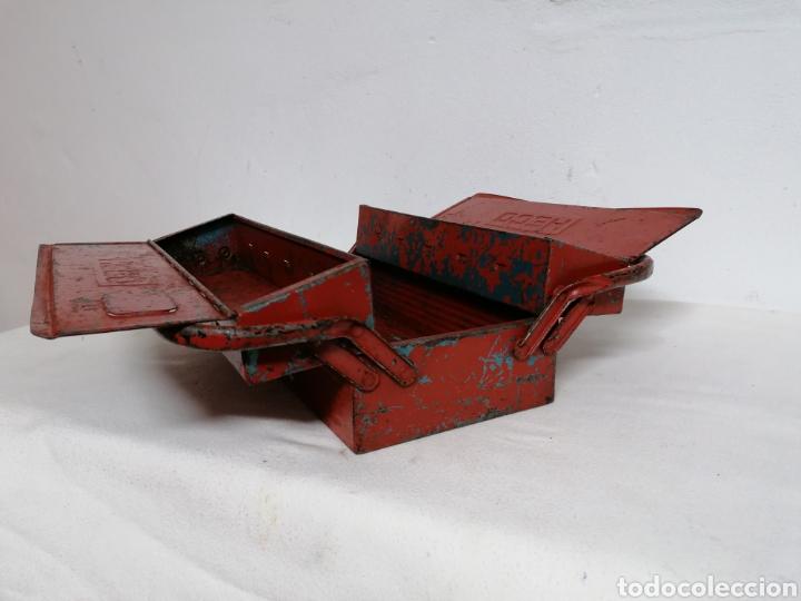 Antigüedades: Caja de herramientas vintage HECO - Foto 6 - 194894313