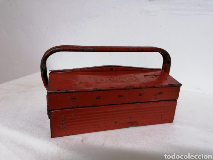 Antigüedades: Caja de herramientas vintage HECO - Foto 7 - 194894313