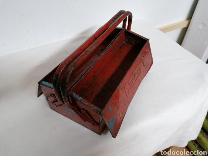 Antigüedades: Caja de herramientas vintage HECO - Foto 8 - 194894313