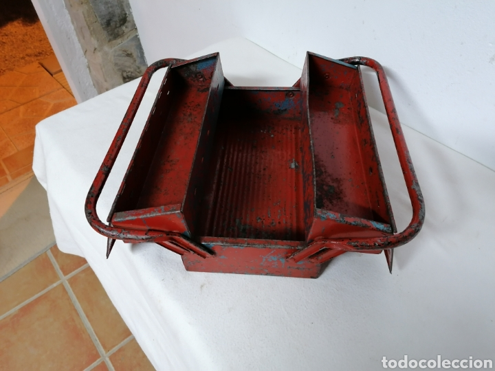 Antigüedades: Caja de herramientas vintage HECO - Foto 9 - 194894313