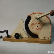 Antigüedades: LMV - CORTADORA DE FIAMBRE ANTIGUA. Lote 194896882
