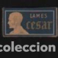 Antigüedades: CAJA DE HOJAS DE AFEITAR DE MARCA CESAR 10 HOJAS 10 LAMES FRANCIA. Lote 194934035