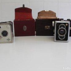 Antigüedades: LOTE DE ANTIGUAS CÁMARAS DE FOTOS. Lote 194940733