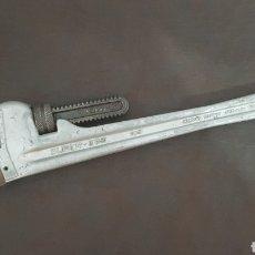 Antigüedades: LLAVE GRIFA SUPER-EGO 45CM. Lote 194949253