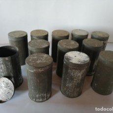 Antigüedades: LOTE DE 12 TARROS DE FARMACIA SIGLO XIX. Lote 194952012