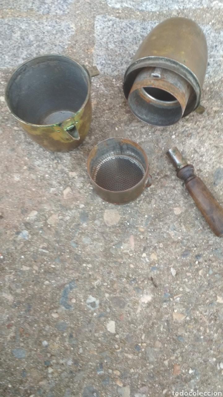 Antigüedades: Cafetera antigua militar. - Foto 3 - 194960648