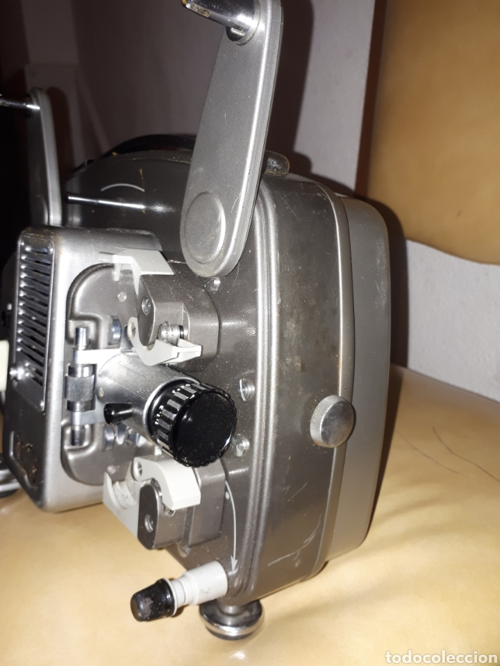 Antigüedades: Antiguo Bolex 18/5 de 8mm Projector made in switzerlnad - Foto 2 - 194969133