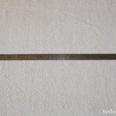 Antigüedades: REGLA DE PRECISION EN ACERO INOXIDABLE - 50 CENTIMETROS. Lote 195032602