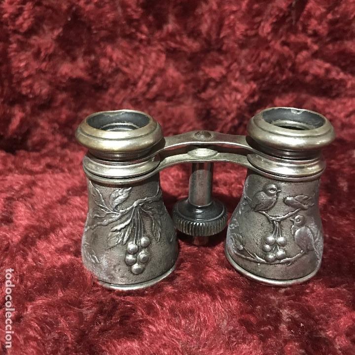 Antigüedades: Prismáticos alpaca aves - Foto 3 - 195042522