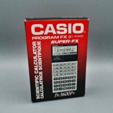 Antigüedades: CALCULADORA CASIO FX-3600PV PROGRAM FX , CALCULADORA VINTAGE, ANTIGUA AÑO1989 COMO NUEVA!!!. Lote 195058901