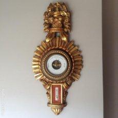 Antigüedades: ANTIGUO BARÓMETRO ANEROIDE BREVETE (PARÍS). Lote 195135868