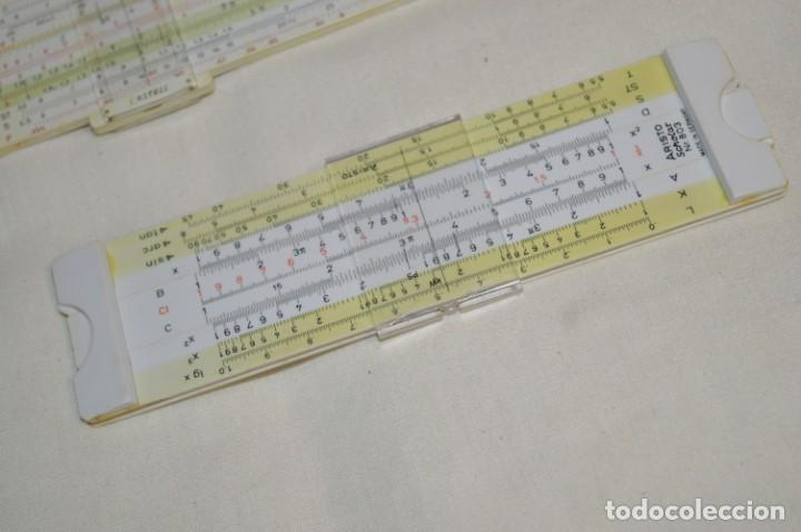 Antigüedades: Preciosas, 3 ANTIGUAS REGLAS de CÁLCULO Germany / 2 marca FABER - CASTELL y otra ARISTO ¡Mira! - Foto 10 - 195138392