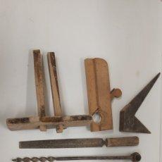 Antigüedades: LOTE HERRAMNIENTA CARPINTERO. Lote 195138600
