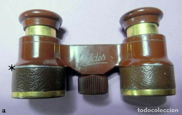 ANTIGUOS PRISMÁTICOS BINOCULARES ELDIS G. RODENSTOCK (Antigüedades - Técnicas - Instrumentos Ópticos - Binoculares Antiguos)