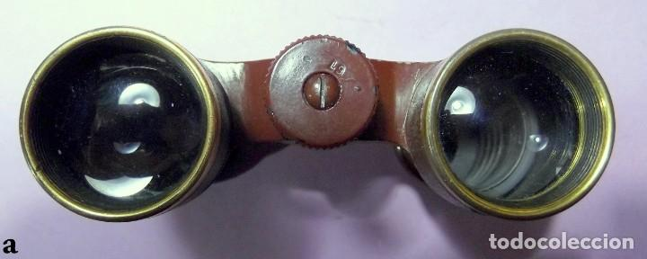 Antigüedades: Antiguos Prismáticos Binoculares ELDIS G. Rodenstock - Foto 3 - 195144630
