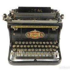 Antigüedades: MAQUINA DE ESCRIBIR JDEAL 5 AÑO 1920 TYPEWRITER SCHREIBMASCHINE MACHINE A ECRIRE. Lote 195145571