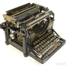 Antigüedades: MAQUINA DE ESCRIBIR RARA UNDERWOOD Nº2 AÑO 1905 TYPEWRITER SCHREIBMASCHINE . Lote 195148366
