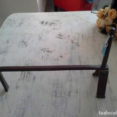 Antigüedades: MORILLO DE FORJA. Lote 195163515