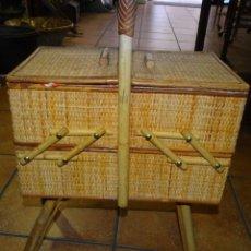 Antigüedades: COSTURERO DE PIE. VINTAGE EXTENSIBLE.. Lote 195176233